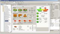 Визуальный редактор графического интерфейса Java приложения