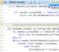 Convert .NET