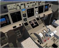 Вид кабины Boeing-777